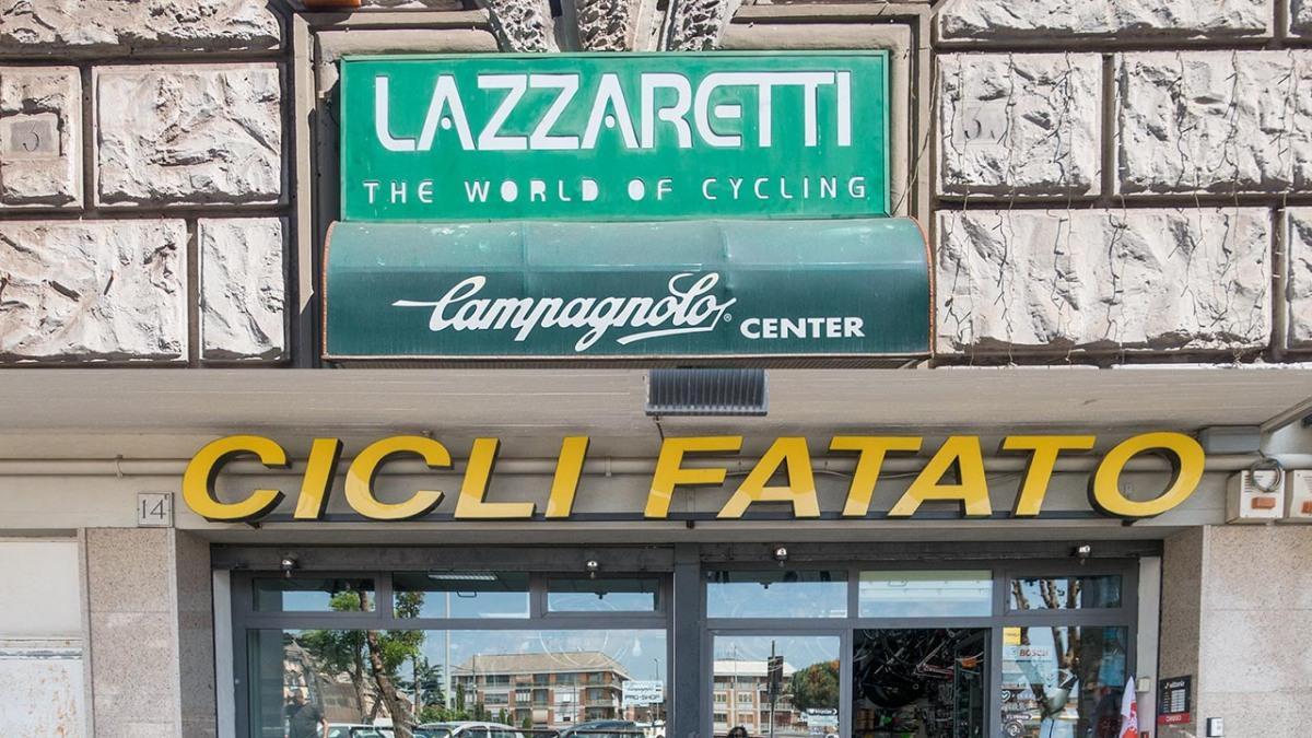 Roma'da Bisiklet Mağazalarını Gezdik