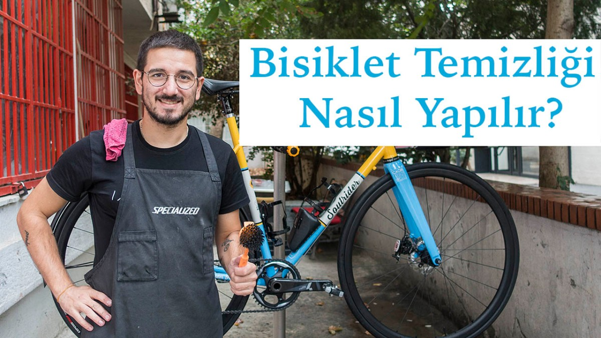 Bisiklet Temizliği Nasıl Yapılır? #Çağrı Terzioğlu, Aktif Pedal#